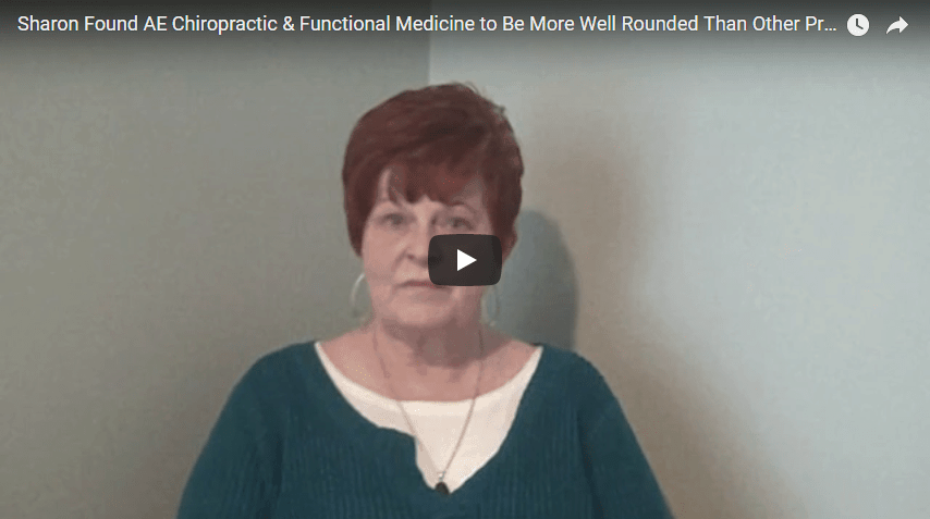 Sharon - hip pain video testimonial thumbnail