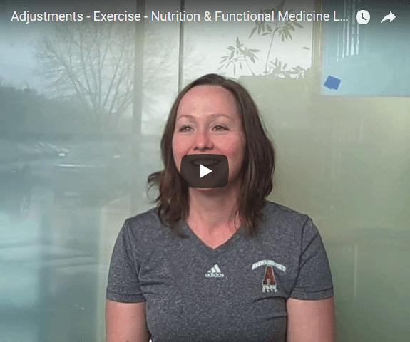Video thumbnail from Adjustment testimonial