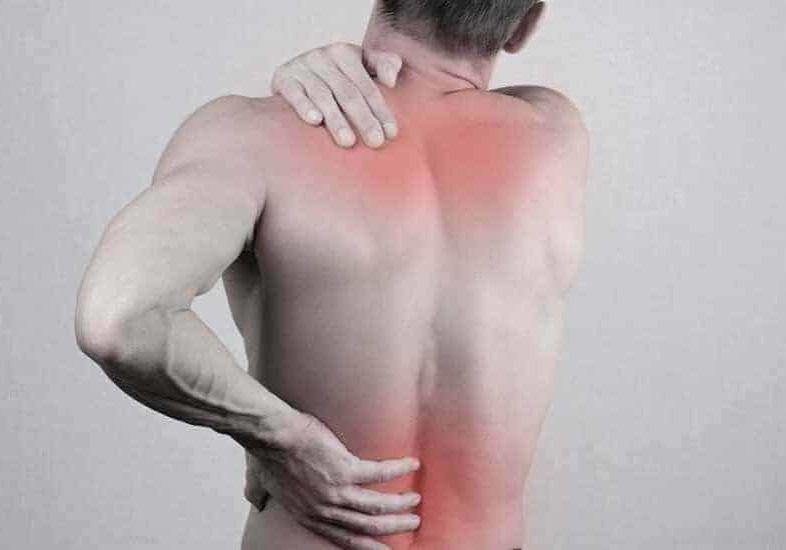 radiating upper and lower back pain
